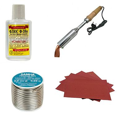 Материалы необходимые для ремонта теплообменника