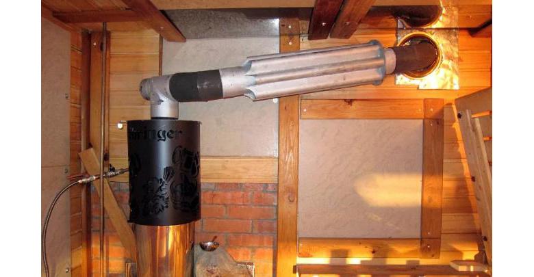 Конвекционные трубы на дымоходе