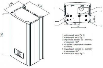 Электрокотел протерм скат 6 квт отзывы
