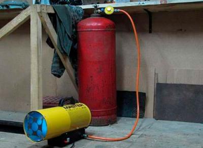 Самодельное отопление в гараже
