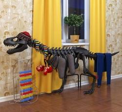 Радиатор отопления в форме динозавра