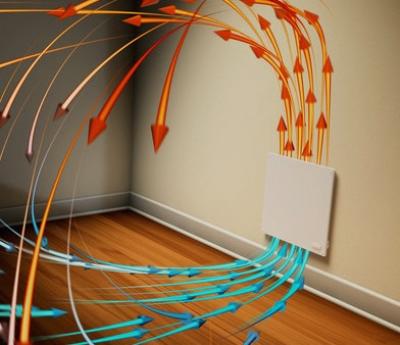 Конвекция воздуха в квартире