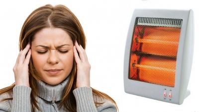 ИК-обогреватель и головная боль