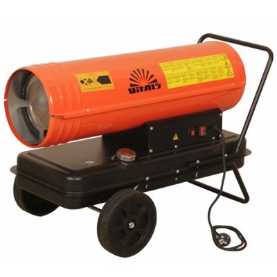 Обзор дизельных тепловых пушек для обогрева гаражных помещений
