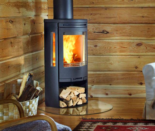 Печка для дома на дровах