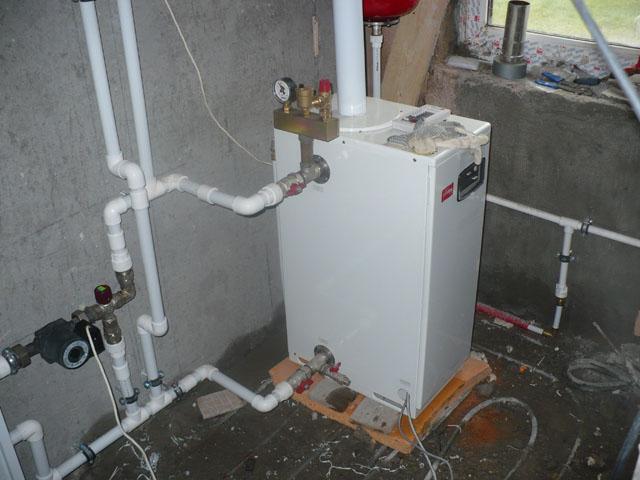 Газовый котел для отопления частного дома монтаж своими руками 64