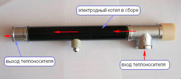 Электродный котел сделать самому