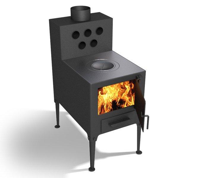Печка дачная