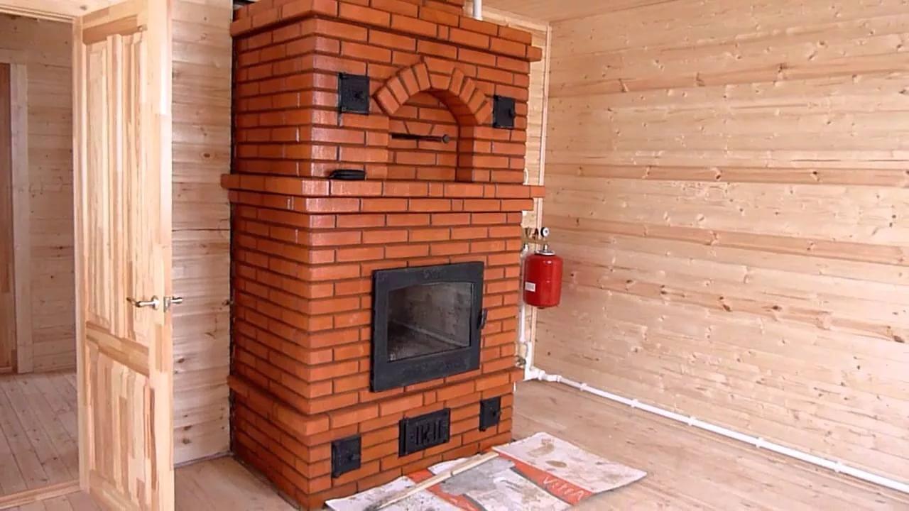 Печь с водяным контуром для отопления дома своими руками фото