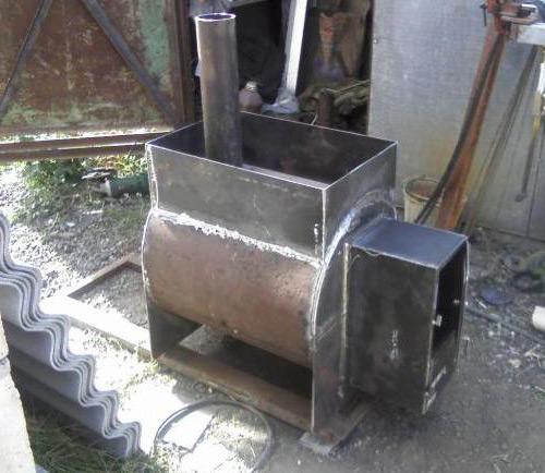 Как сделать самому печь для бани из металла