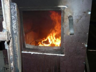 Камера сгорания самодельного котла