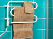 Электрические полотенцесушители для ванной комнаты